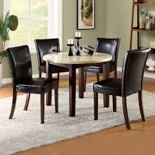 Black And White Dining Room Ideas by Kitchen Ancient Black Chair Round Dining Table For 4design Ideas