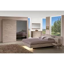 chambre a coucher cdiscount ensemble chambre à coucher contemporaine coloris chêne avec