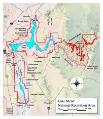 lake mead map lake mead national recreation area visitor center maps