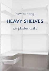 how to hang cabinets on plaster walls memsaheb net
