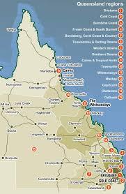 map of queensland queensland map queensland australia mappery