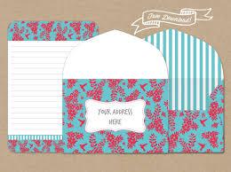 free letter writing stationery template u2013 hummingbird habitat