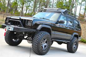 cherokee jeep 2000 cherokee xj sport lifted nicest in country fully built stage 4