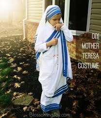 spirit of halloween halifax all saints u0027 day costume mother teresa of calcutta u2014 blossoming joy