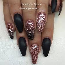 best 25 black nails ideas on pinterest black nail glitter nail