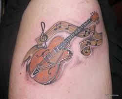 guitar tattoos and designs page 152