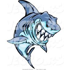 drawn tiger shark animated pencil and in color drawn tiger shark