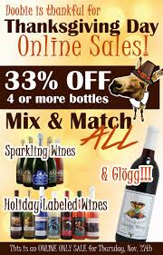 best thanksgiving day sales thanksgiving day online sales at swedish hill winery swedish