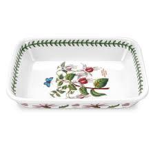 portmeirion botanic garden lasagne dish 9 x 7 inch portmeirion uk