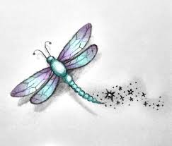 small dragonfly tattoos dragonfly sketch by missmadnesss