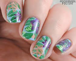 the lacquer ring beach tropical nail art procrastinating polishr