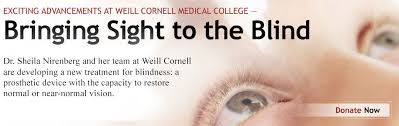 Artificial Eye For Blind Exciting Advancements At Weill Cornell Medical College U2014bringing