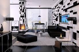 Living Room Black Sofa Black And White Living Room Design And Ideas Inspirationseek