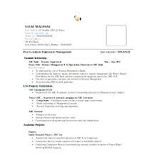 Resumes For Mba Finance Freshers Research Proposal On Quality Customer Service Didier Van