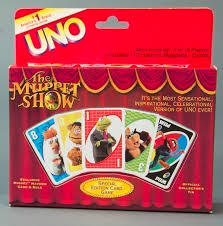 115 5123 the muppet show uno card card