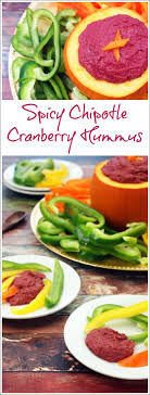 spicy chipotle cranberry hummus this cooks on a diet