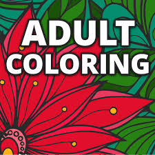 flower coloring book adults free coloring pages