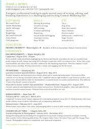 resume u2014 copywriter