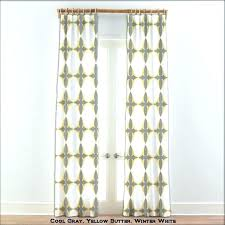 Yellow And Grey Window Curtains Yellow And Grey Curtains Room Darkening Window Curtain Yellow Gray