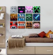 Minecraft Bedroom Decals by 13 Best Kids Rooms Images On Pinterest