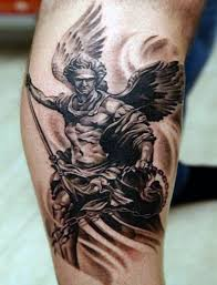 black white protector guardian on forearm