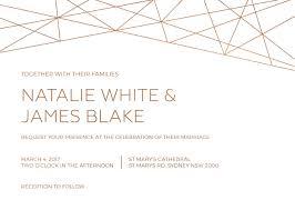 Carlton Cards Wedding Invitations Geometric Wedding Invitations Wedding Invites U0026 Cards