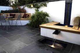 exterior modern garden water features designs modern backyard