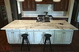kitchen island countertop calcutta gold marble kitchen yk center fabrication in denver