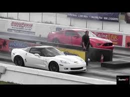 corvette supercharged zr1 chevrolet corvette zr1 racing drag racing
