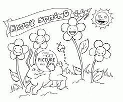 123 seasons coloring pages images coloring