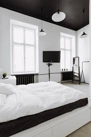 Black And White Bed Best 25 Black Ceiling Ideas Only On Pinterest Scandinavian