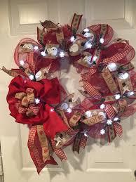 lighted christmas wreath lighted christmas wreath wreath snowman wreath wreath