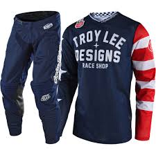 motocross gear shop new troy lee designs 2018 mx gp air americana navy tld motocross