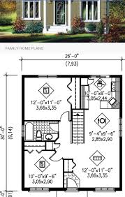 Small Home Plan 221 Best Small Homes Images On Pinterest Small Homes House