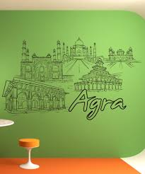 wall decals for home wall vinyl stickers vinyl art decals vinyl wall decal sticker agra 1419