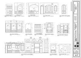 Elevation Floor Plan Building Sections U0026 Interior Elevations 9 Of 11 Sater Design