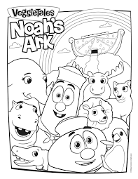 veggie tales coloring pages coloring page