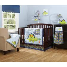 Crib Bedding Sets by Bananafish Little Dino 3 Piece Crib Bedding Set With Bonus Diaper