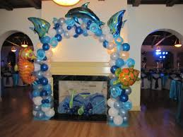 the sea decorations party event decorating company the sea bat mitzvah