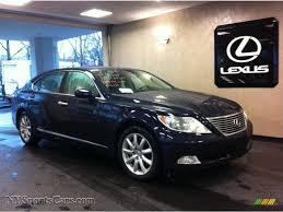 lexus ls 460 engine for sale 2008 lexus ls 460 l in black sapphire blue pearl 030974