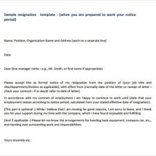 How To Write Resignation Notice Well Resignation Letter Without Notice U2013 Letter Format Writing
