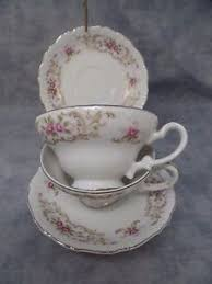 style house china baroque set of 2 baroque style house china cup and saucer vintage