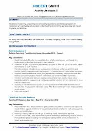 Child Care Assistant Resume Sample Assistant Resume Samples Examples And Tips