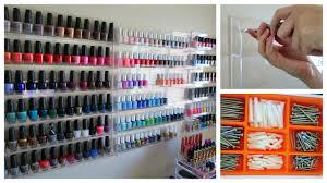 how to hang nail polish racks missjenfabulous youtube