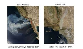 Wildfire Davis Ca by Southern California Wildfires Exhibit Split Personalities