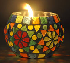 fancy candles for diwali decorations