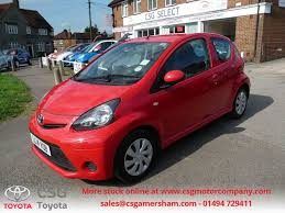 cheap toyota used chilli red toyota aygo for sale buckinghamshire