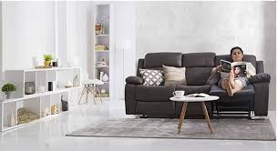 three seater recliner sofa robert three seater recliner sofa at rs 49999 set three seater