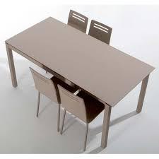 table cuisine table de cuisine en céramique avec allonge celeste