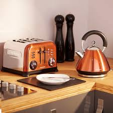 Toaster Ideas Copper Accents 4 Slice Toaster 44744 厨房 Kitchen Pinterest